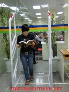 Cổng từ chống trộm thư viện