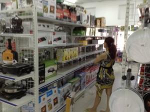 Kệ siêu thị tại Hà Nội.