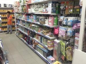 Kệ siêu thị tại Thái bình