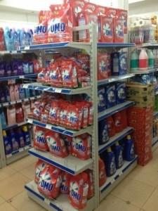Kệ siêu thị tại Hòa bình