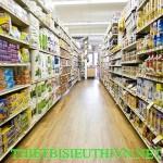 Quầy Kệ siêu thị TL09