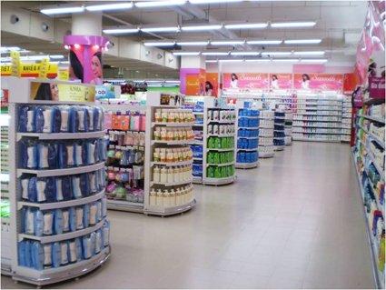 Thiết kế kệ siêu thị
