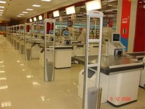 Cổng từ an ninh - Giải pháp an ninh cho siêu thị shop thời trang