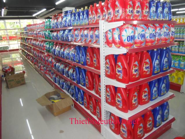Kệ chứa hàng cho siêu thị