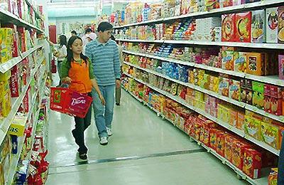 Kệ giá cho siêu thị