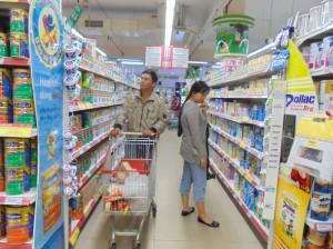 Giá kệ siêu thị - Giá kệ trưng bày sản phẩm TL17