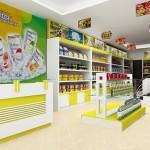 Thiết kế tủ kệ siêu thị