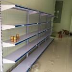 Giá kệ siêu thị đơn áp tường