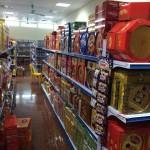 Kệ bán hàng trong siêu thị nên sử dụng ở vị trí nào